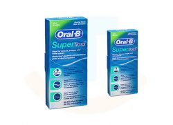 Oral-B Superfloss mint 3-in-1