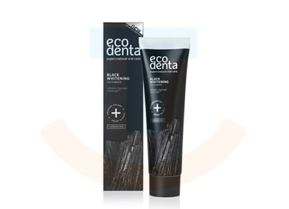 Ecodenta Black Whitening tandpasta